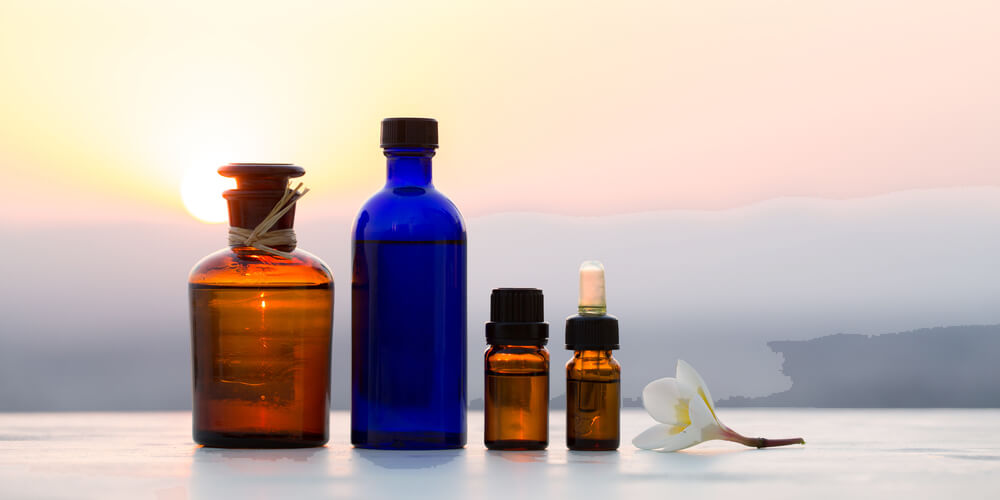 dark bottles for essential oils