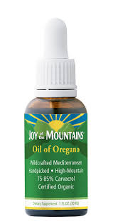 one bottle of joy of the mountain essential oil