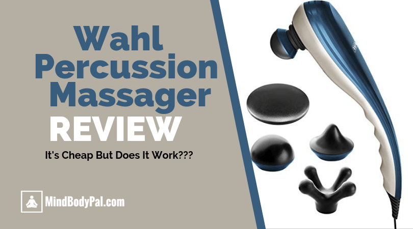 wahl percussion massager review