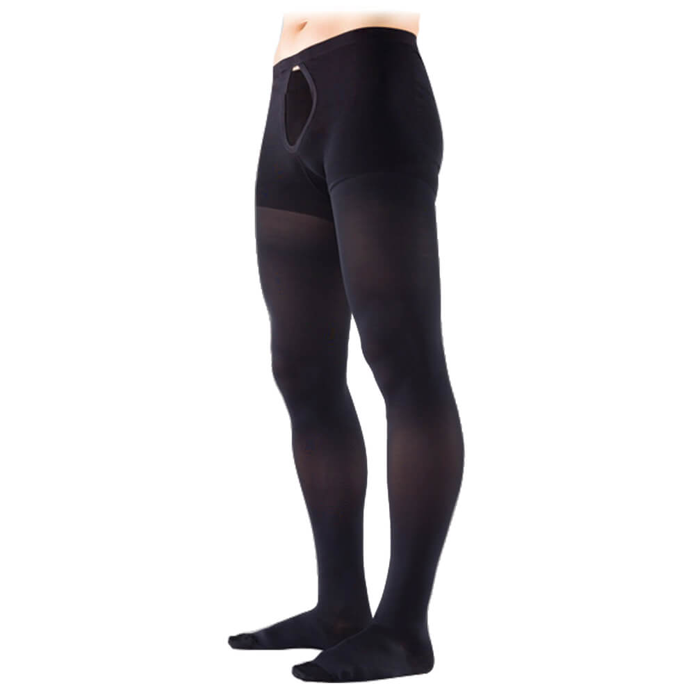 black mens compression stockings